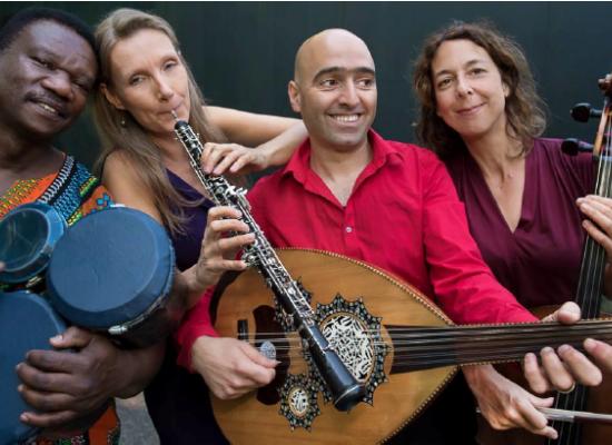 Haytham Safia Qu4rtet concert in Ravenstein