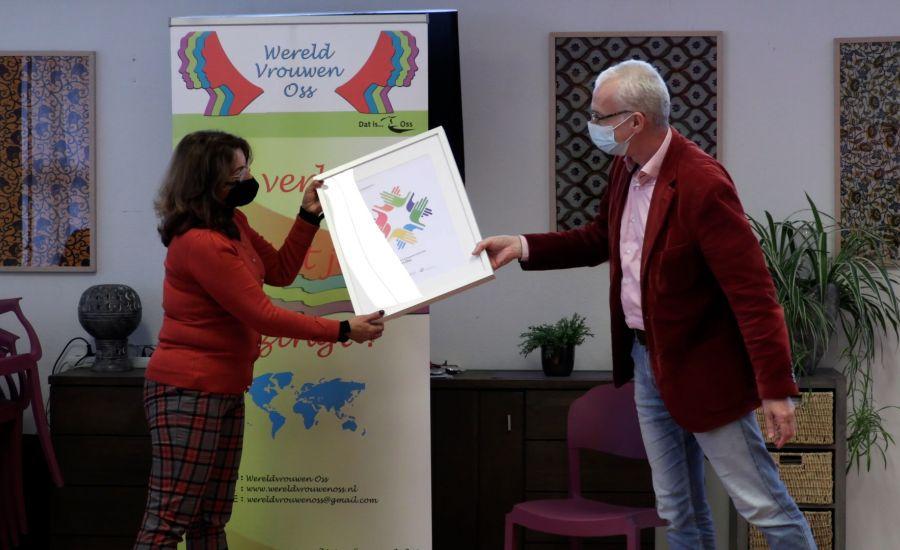 Wereldvrouwen Oss wint derde prijs 'Ambassade van de Verdraagzaamheid'